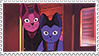 Night on the Galactic Railroad Stamp by GrinHowl