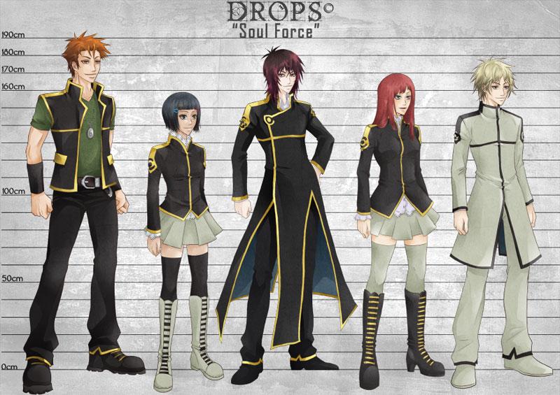 R O D Anime Characters : D r o p s manga by oomellychanoo on deviantart