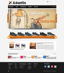 KINETIX web site