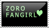 Zoro fangirl stamp by Chiza-Piratetiger