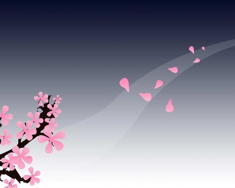 falling blossom by Harumi-zanza