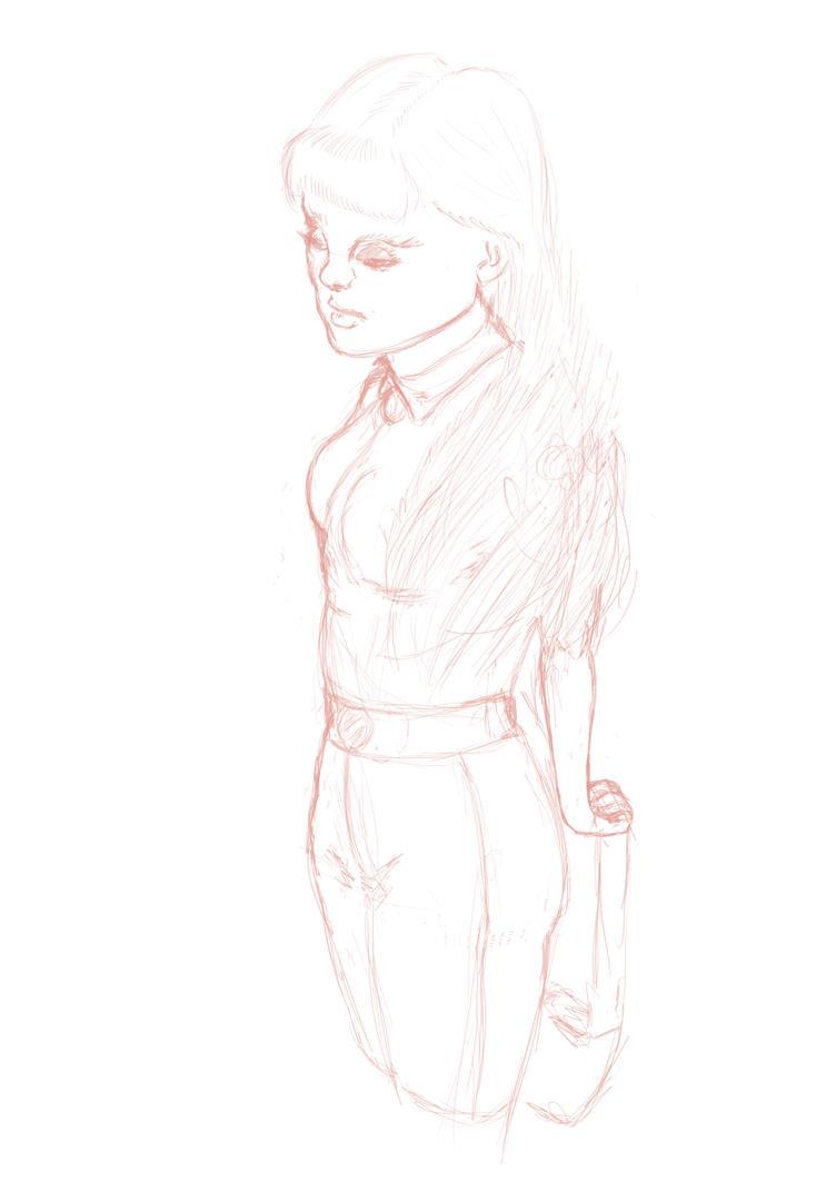 Sketch by Fudziyama
