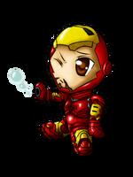 Chibi IronMan by Magy-san