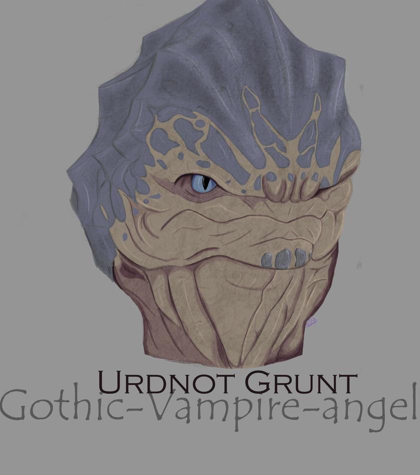 Urdnot Grunt by Gothic-vampire-angel