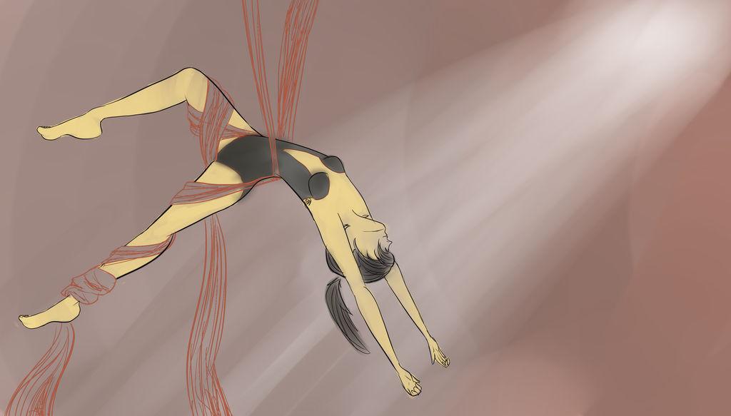 Princess Aerial Dancer Kraehe