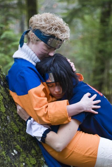 SasuNaru Embrace by twinfools