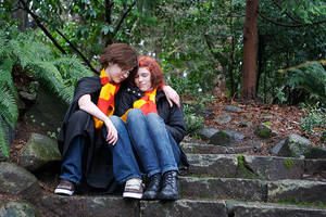 Harry and Ginny I by twinfools