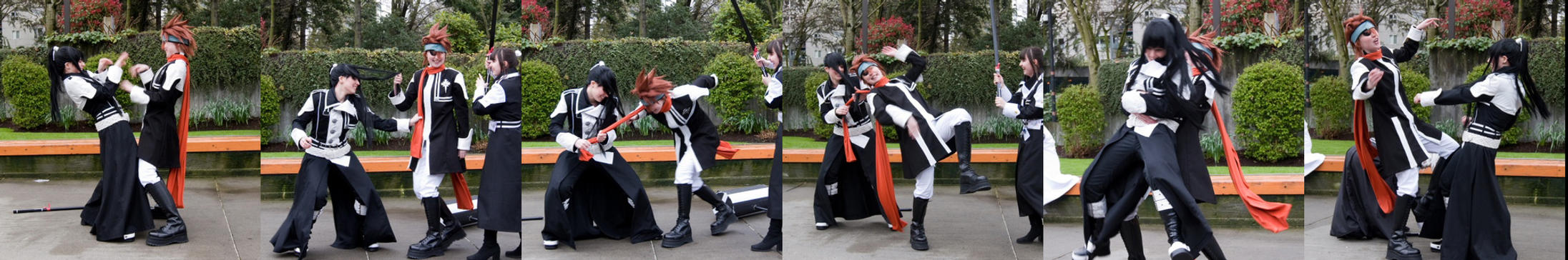 Epic Battle- Lavi vs. Kanda by twinfools