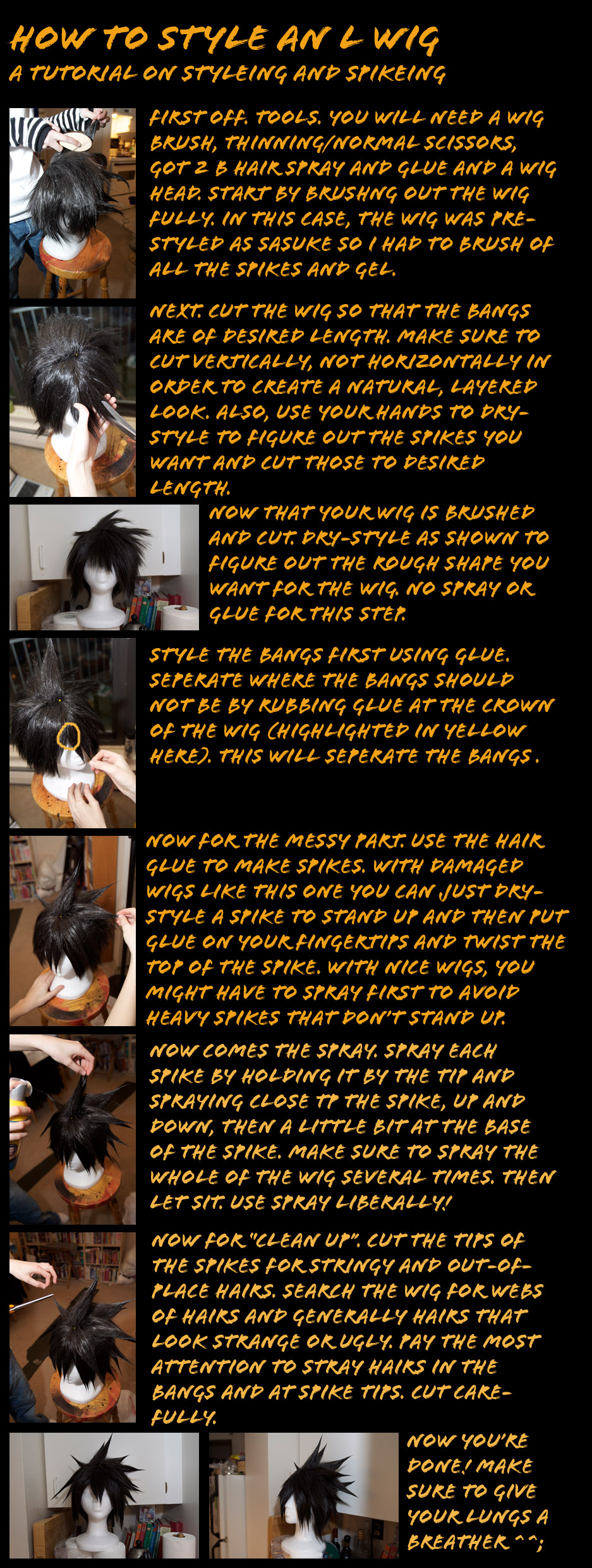 Wig Tutorial L and Spiking