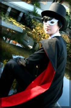 Tuxedo Mask- Blue Eyed Phantom
