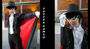 Tuxedo Kamen- Sakura Con 2010 by twinfools