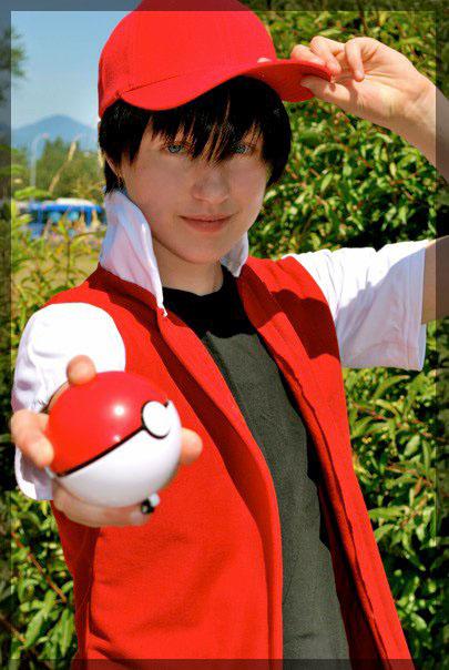 red pokemon trainer by twinfools on deviantart