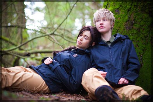Hunger Games- Peeta and Katniss