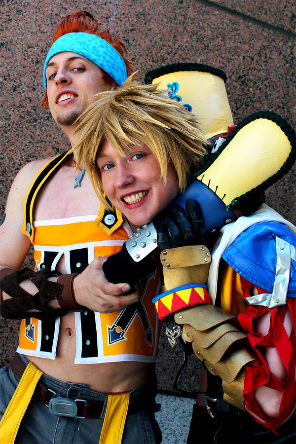 Tidus and Wakka by twinfools