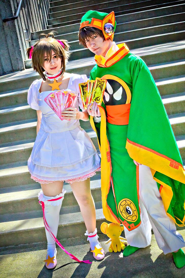 CardCaptors- Syaoran and Sakura by twinfools