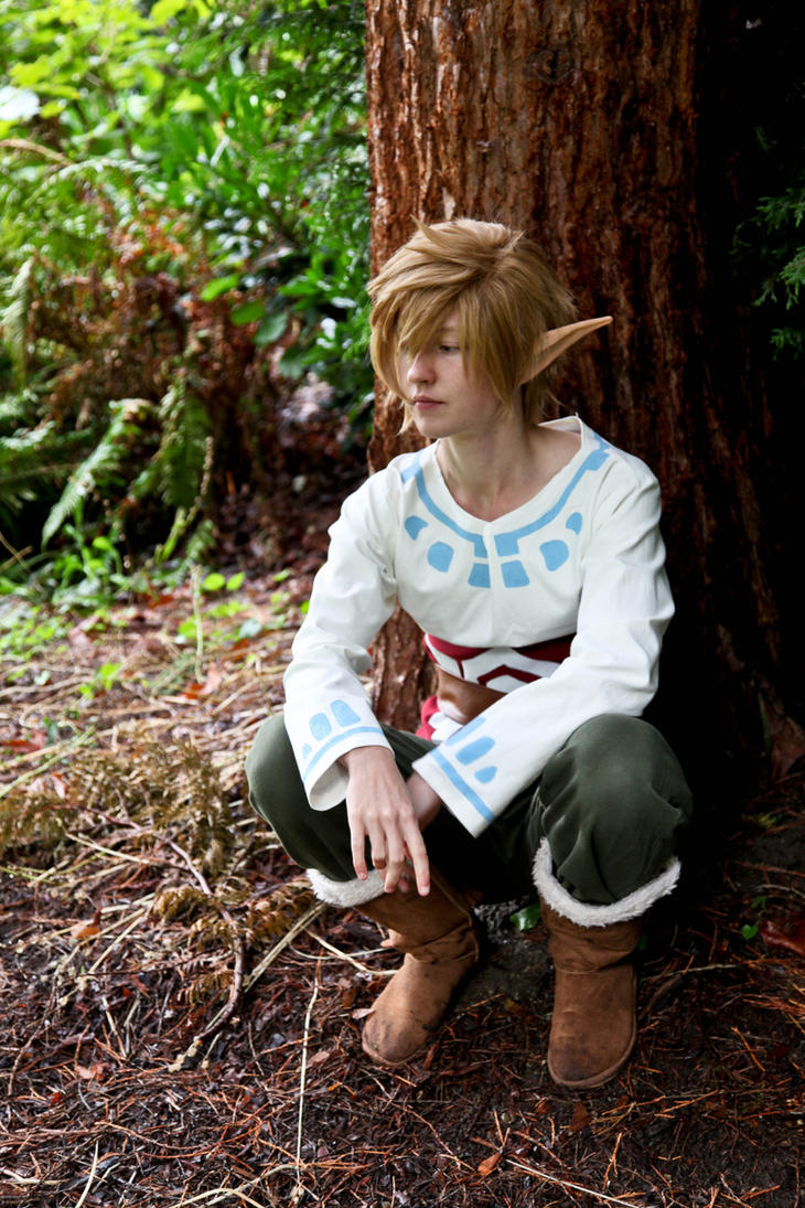 Link- Skyloft Woodsman by twinfools