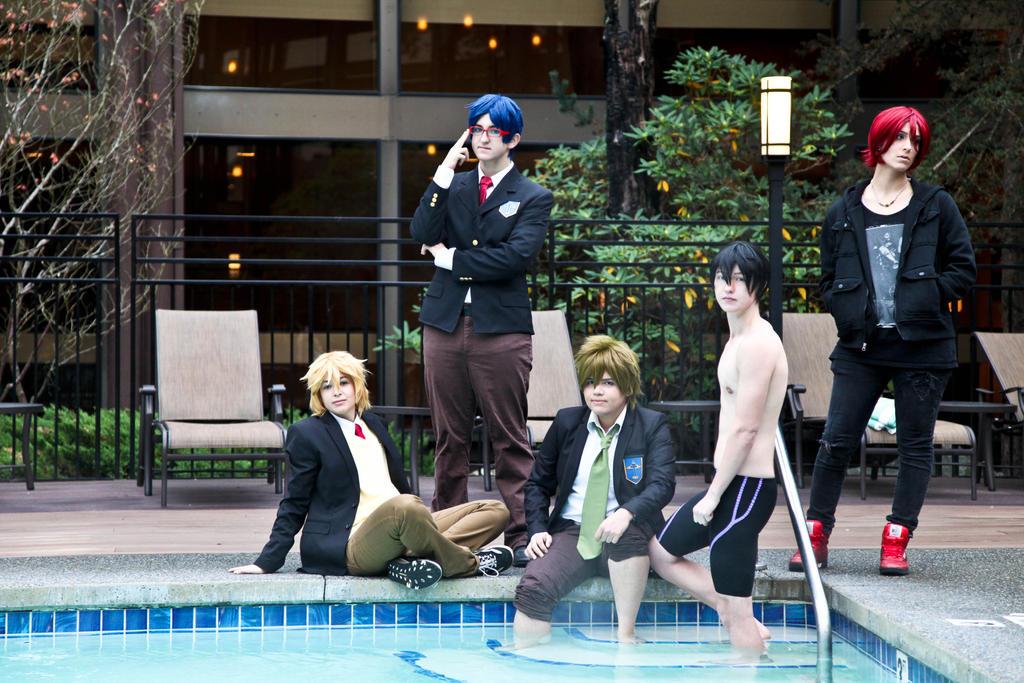 Free!- Iwatobi Swim Club by twinfools