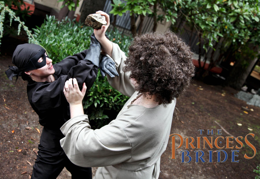 The Princess Bride- Westley vs Fezzik by twinfools