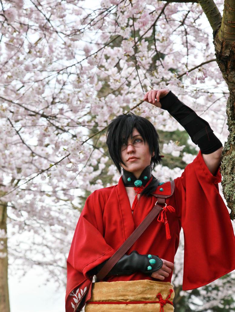 Koujaku- Cherry Blossoms by twinfools