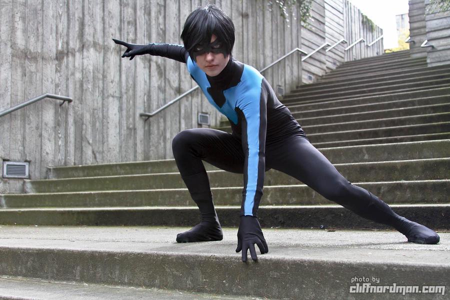 Nightwing- Steps of Gotham by twinfools