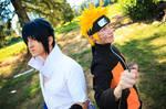 Naruto and Sasuke- Oppositional