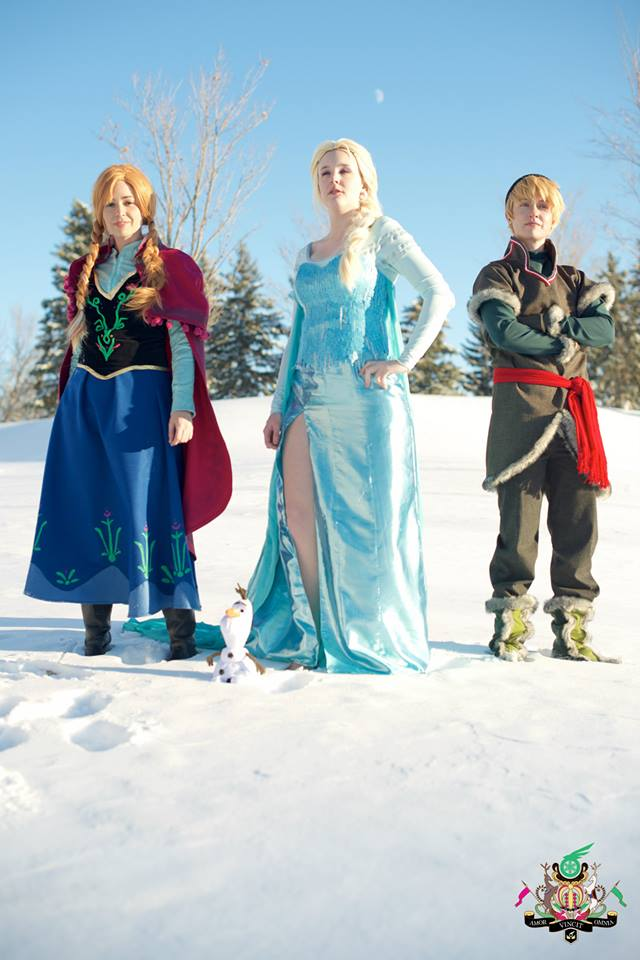 Frozen- Here I'll Stand and Here I'll Stay by twinfools