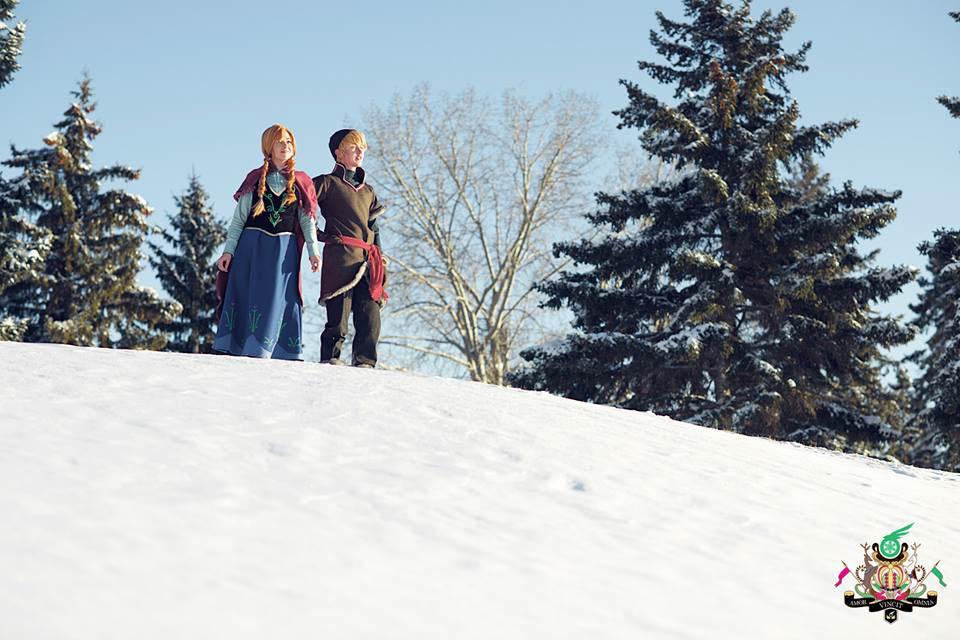 Frozen- Winter Wonderland by twinfools