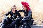 Kingdom Hearts- Axel and Demyx