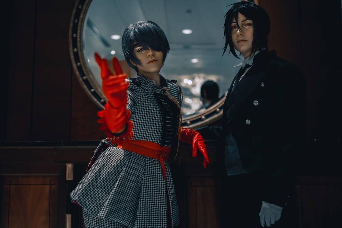 Black Butler- A Lord and His Butler by twinfools