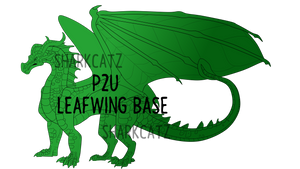 [P2U] LeafWing Base 2019 by SharkCatz