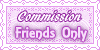 Commission Friends Only Stamps by AngelLale87