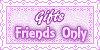 Gift friends only stamps