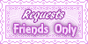 Request Friends Only Stamps by AngelLale87