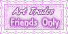 Art Trades Friends Only Stamp by AngelLale87