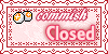 Point Commission Closed Stamp