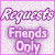 Request Friends Only Plz by AngelLale87