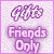 Gift Friends Only Plz by AngelLale87