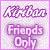 Kiriban Friends Only Plz by AngelLale87