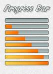 Progress Bar - Orange