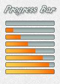 Progress Bar - Orange by AngelLale87