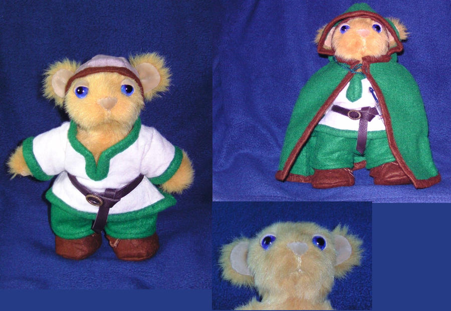 Viking Teddybear by Hakura-chan