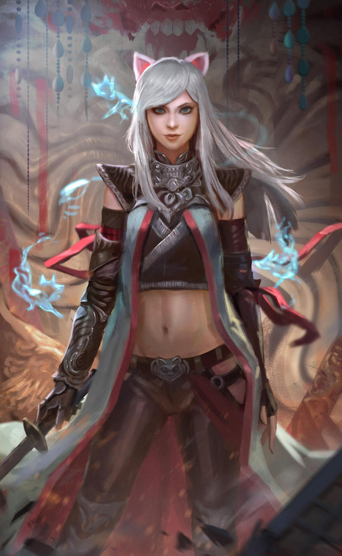 Nara underworld messenger by andyliongart