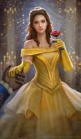Belle Fan art_Beauty and the Beast 2017