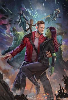 Guardian of The Galaxy Vol 2 - Fan art
