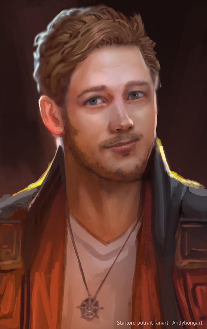 Starlord potrait by andyliongart