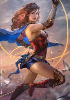 Wonder Woman JL FANART