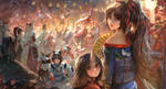 Onmyoji Fanart Contest_Festive Night