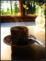 Coffee break by Hookkan