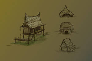 Lostless Swamp Concept02 by Anaxi