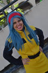 My cosplay Bulma Dragon Ball Z by joelmarodrigues